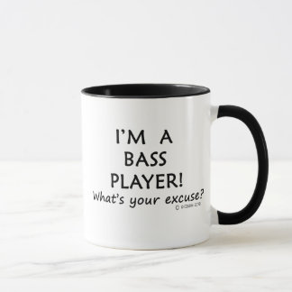 Bass Player Excuse Mug