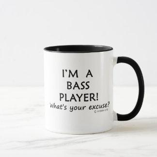 Bass Player Excuse Mug