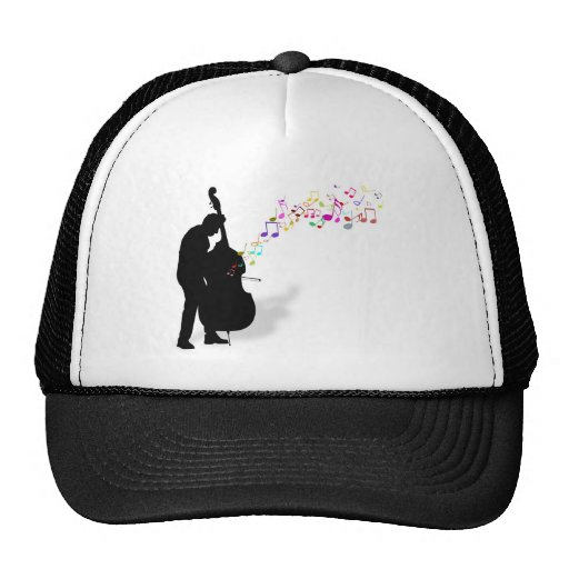 Bass Player Trucker Hats