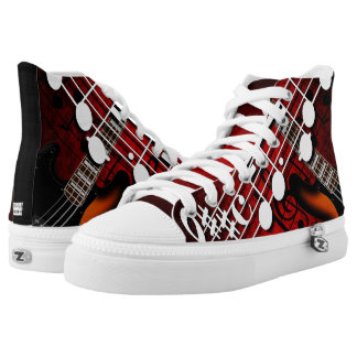 Bass Player High Tops