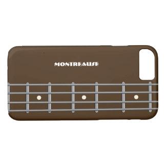 Bass Player iphone Case Bass Guitar Neck Custom
