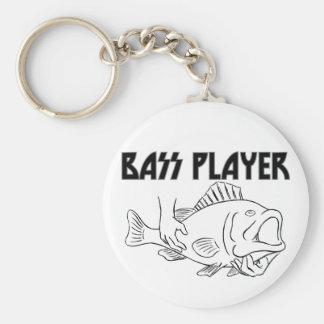 Bass Player Key Ring