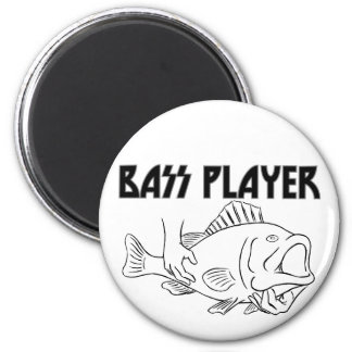 Bass Player Magnet