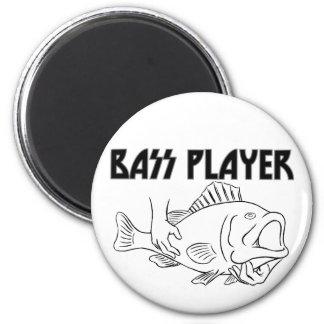 Bass Player Refrigerator Magnets