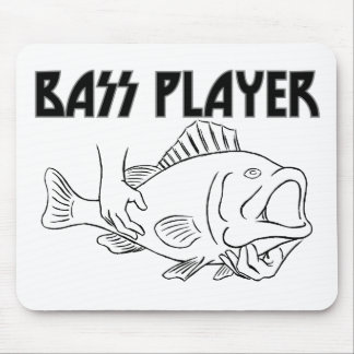 Bass Player Mouse Pad