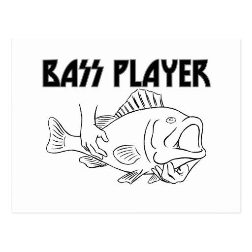 Bass Player Postcards