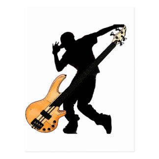 Bass Player Swag Postcard