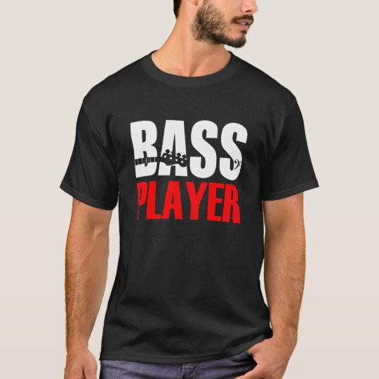 Bass Player T-Shirt Black