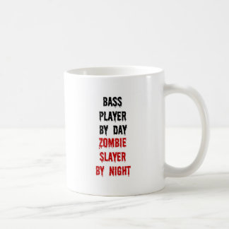 Bass Player Zombie Slayer Coffee Mug