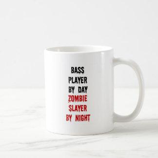 Bass Player Zombie Slayer Coffee Mug