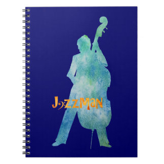 Bass Playing Jazzman Notebook