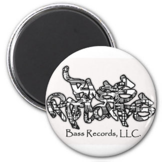 Bass Records Magnet