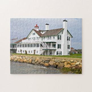 Bass River Lighthouse, Massachusetts Jigsaw Puzzle