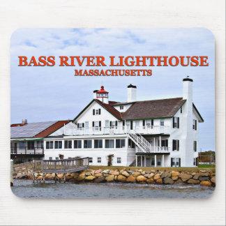 Bass River Lighthouse, Massachusetts Mousepad