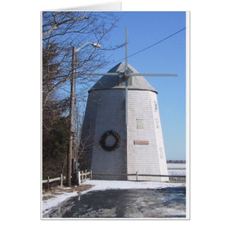 Bass River Windmill Card