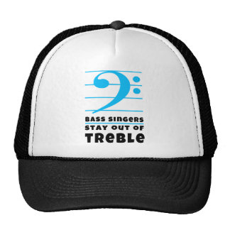 Bass Singers Stay Out of Treble Cap