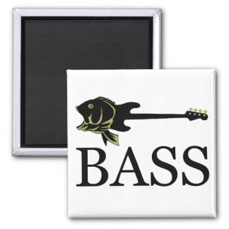 BASS? SQUARE MAGNET