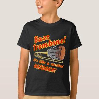 Bass Trombone Musical Bazooka T Shirts
