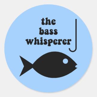 bass whisperer sticker