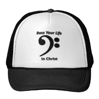 Bass Your Life In Christ Cap
