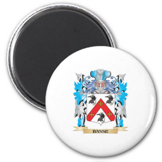Basse Coat of Arms Refrigerator Magnet