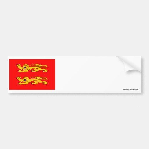 Basse-Normandie flag Bumper Stickers