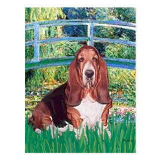 Basset 1 - Bridge Postcard