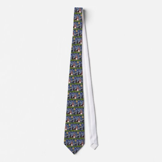 Basset 1 - Starry Night Tie