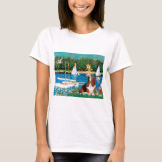 Basset 2 - Sailboats T-Shirt