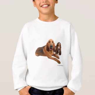 Basset and Bloodhound Buddies Sweatshirt