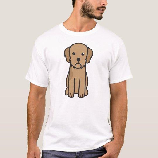 Basset Fauve de Bretagne Dog Cartoon T-Shirt