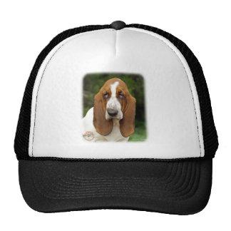 Basset Hound 9L9D-05_2 Mesh Hats