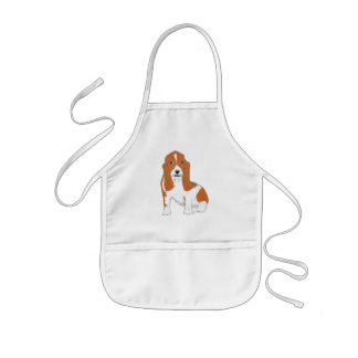 Basset Hound Aprons and multiple Products