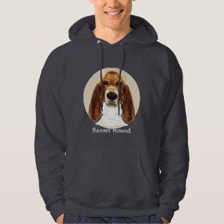 Basset Hound Art Pullover
