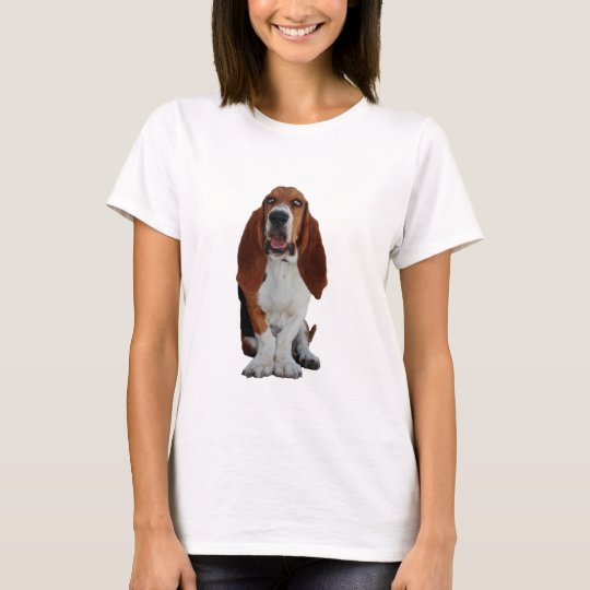 Basset Hound beautiful photo womens t-shirt