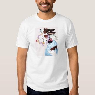 Basset Hound Cupid T-shirts