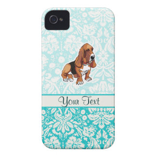Basset Hound; Cute iPhone 4 Case-Mate Case