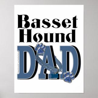 Basset Hound DAD Poster