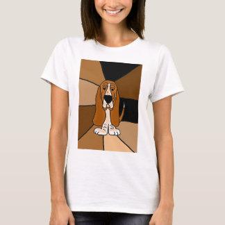 Basset Hound Dog Art T-Shirt
