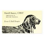 Basset Hound Dog Business Pack Of Standard Business Cards