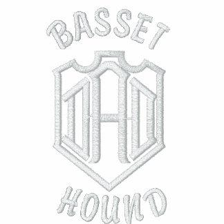 Basset Hound Dog Dad Jacket