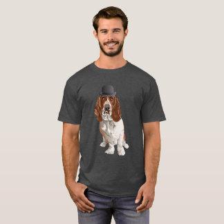 Basset Hound Dog Dad Men T-Shirt