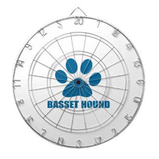BASSET HOUND DOG DESIGNS DARTBOARD