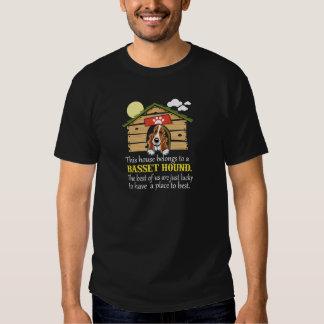 Basset Hound ( Dog House) T-shirts