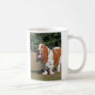 Basset hound dog mug, present idea coffee mug