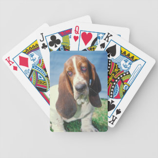 Basset Hound Dog Playing Cards