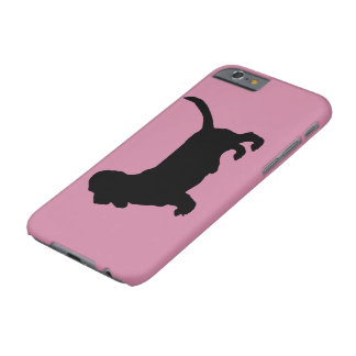Basset Hound Dog Silhouette Barely There iPhone 6 Case