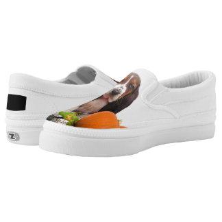 Basset Hound dog Slip On Shoes
