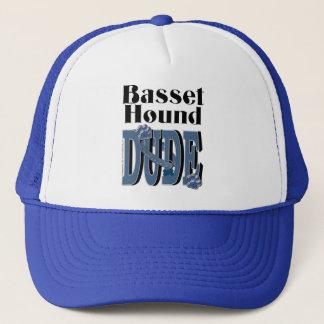 Basset Hound DUDE Trucker Hat