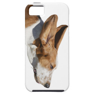 Basset Hound Ears Flapping iPhone 5 case